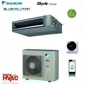 R32 Aer conditionat Daikin SkyAir Advance-series Duct cu ESP mediu FBA100A+RZASG100MV1 34000 btu