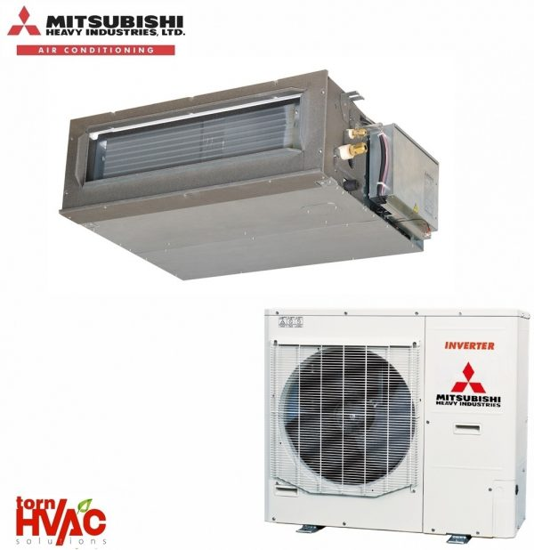 Aer conditionat Mitsubishi Heavy Industries Micro Inverter Duct FDUM125VF+FDC125VN 43000Btu Presiune medie/joasa