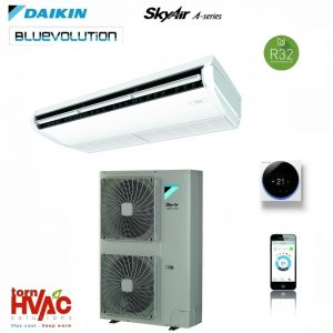 R32 Aer conditionat Daikin Sky Air Bluevolution Alpha-series FHA140A+RZAG140MY1 48000 Btu Inverter de tavan