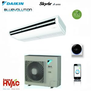 R32 Aer conditionat Daikin Sky Air Bluevolution Advance-series FHA125A+RZASG125MY1 43000 Btu Inverter de tavan