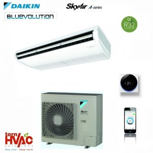 R32 Aer conditionat Daikin Sky Air Bluevolution Advance-series FHA100A+RZASG100MV1 34000 Btu Inverter de tavan