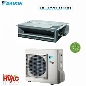 R32 Bluevolution Aer conditionat Daikin Duct FDXM25F3+RXM25M9 9000 Btu