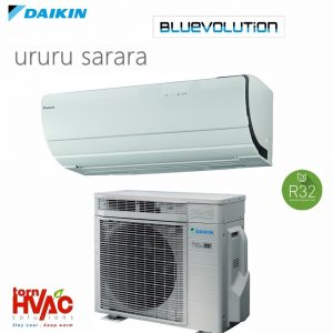 R32 Bluevolution Aer conditionat Daikin Ururu Sarara FTXZ25N+RXZ25N 9000 Btu Split Inverter