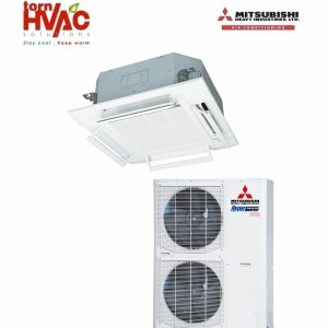 Aer conditionat Mitsubishi Heavy Industries Hyper Inverter Caseta FDT100VG+FDC100VSX 34000Btu