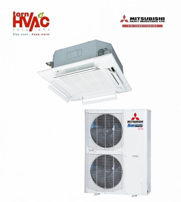 Aer conditionat Mitsubishi Heavy Industries Hyper Inverter Caseta FDT125VG+FDC125VSX 43000Btu
