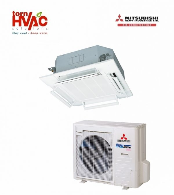 Aer conditionat Mitsubishi Heavy Industries Standard Inverter Caseta FDT100VG+FDC90VNP 30000 Btu