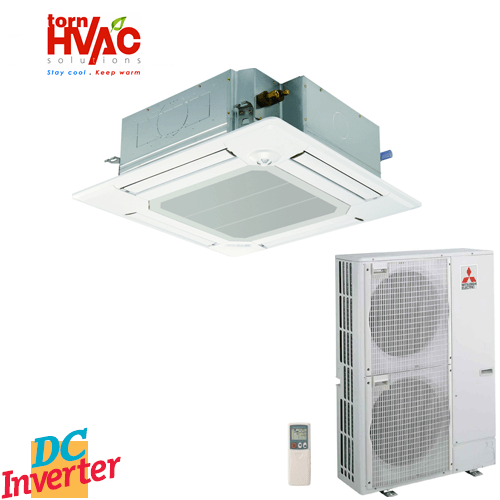 Aer conditionat Mitsubishi Electric Inverter PLA-SP125BA+PUHZ-SP125VHA Caseta 43000Btu