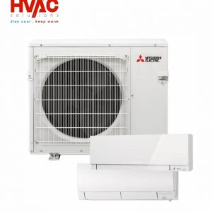 Aer conditionat Mitsubishi Multisplit Zubadan Hyper Heating MXZ-2E53VAHZ+2xunitati interne MSZ-SF25VE