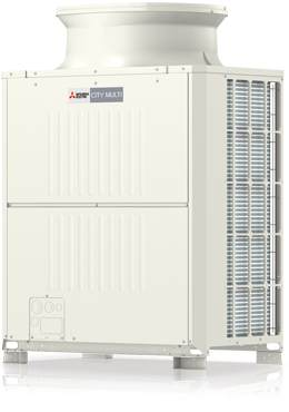 Mitsubishi Electric Hibrid VRF City Multi HVRF
