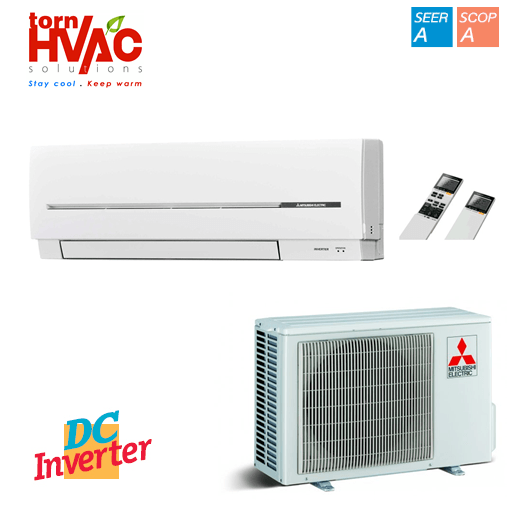 Aer conditionat Mitsubishi Electric SF Cold Region MSZ-SF25VE+MUZ-SF25VEH 9000Btu