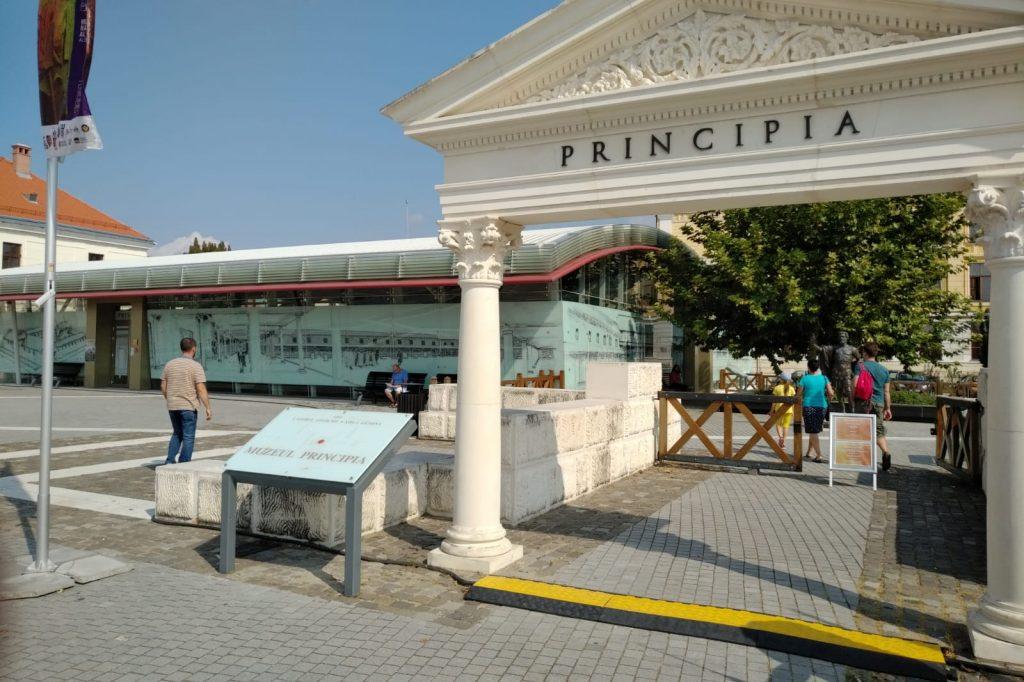 Principia Alba Iulia