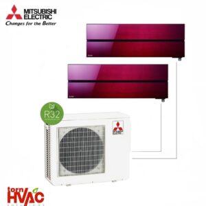 Aer-conditionat-Mitsubishi-Electric-Multisplit-MXZ-3F68VF2xMSZ-LN35VGR-2x12000-BTU-R32-Rosu